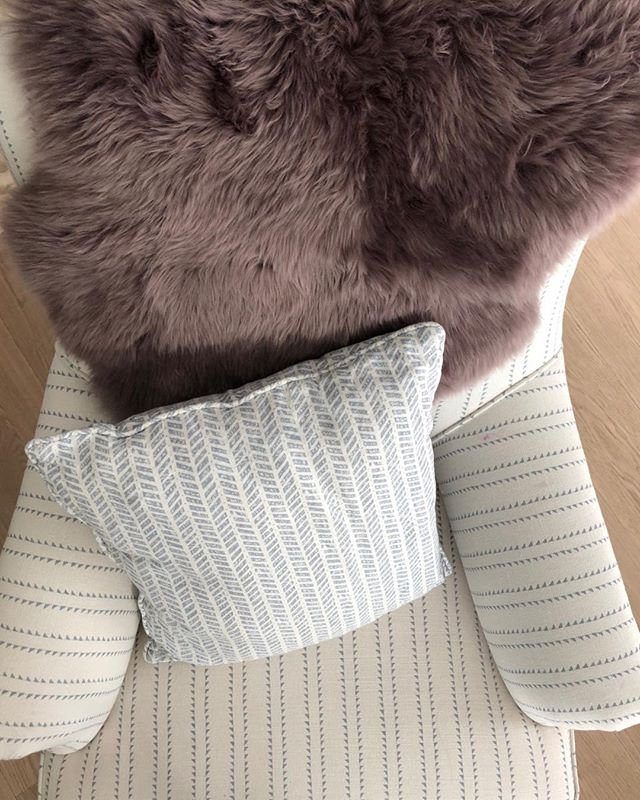 Things have got off to a busy start at Aristeia HQ. The new office is coming along nicely and our teams are working hard on our various projects with lots of beautiful finishing touches in planning like this bespoke armchair in @zoeglencross fabric with a @celticandco sheepskin to stay cosy in the chilly weather #interiordesign #projectmanagement #instainteriors #instainteriorstyling