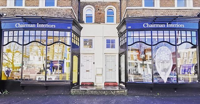We are very excited to have @aristeia_ltd new home at @chairmaninteriors amazing new shop on Goldhawk Road. It is full of antique and bespoke furniture treasures. Come and visit, you won't be disappointed. #smallbusiness #shoplocal #supportthemakers #local #shepherdsbush #hammersmith #westlondon #design #upholstery #furniture