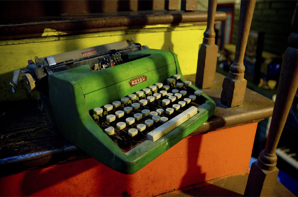 The Green Typewriter