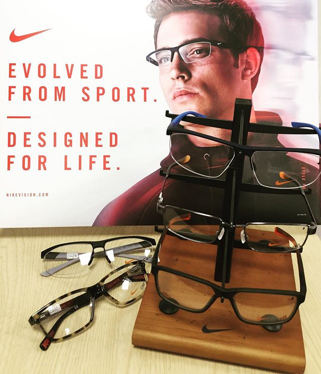See Sport Better with NikeVision Eyewear. Lifestyle sunglasses and ophthalmic frames in stock. Pop in to see the range #athlete #nike