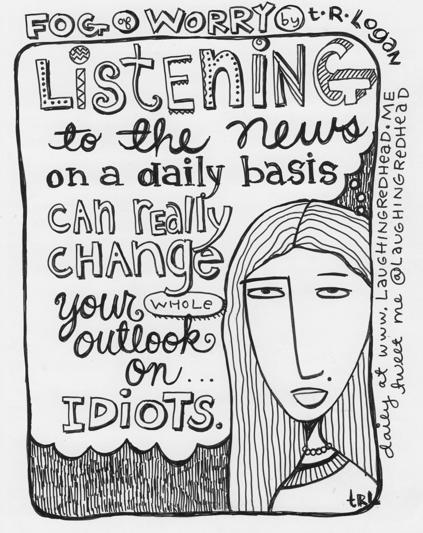 Listening to the the News