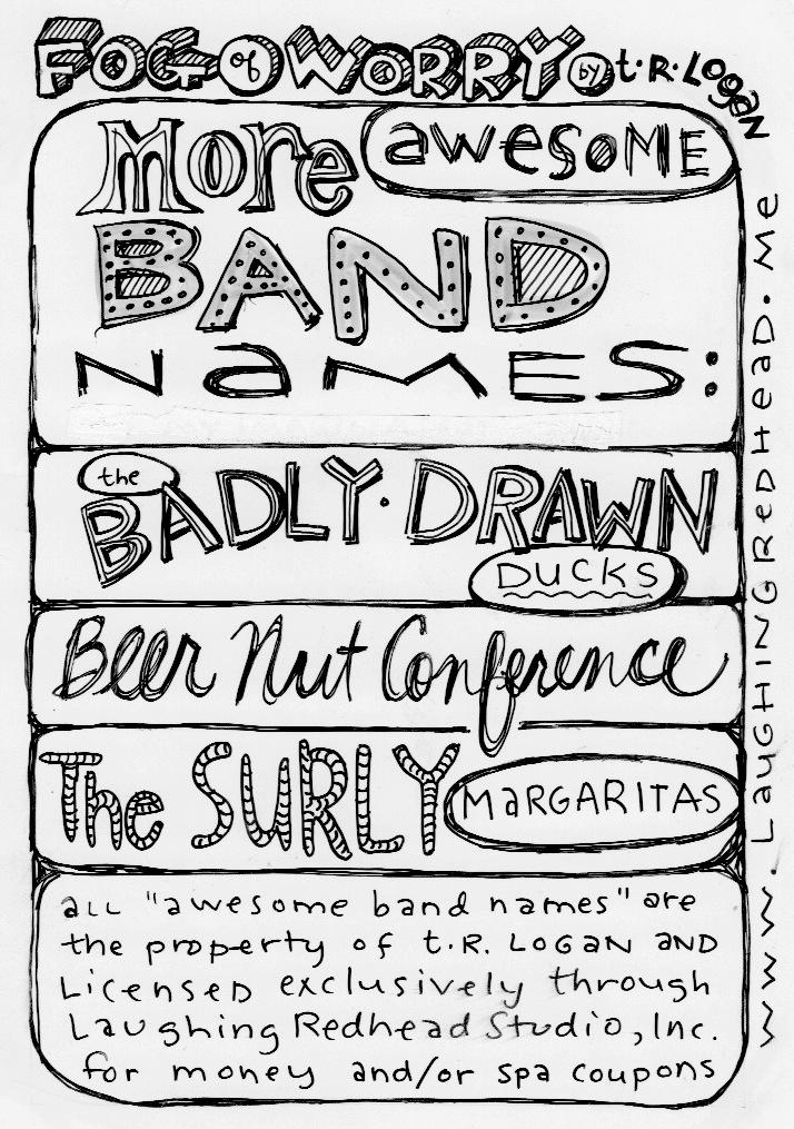 more band names