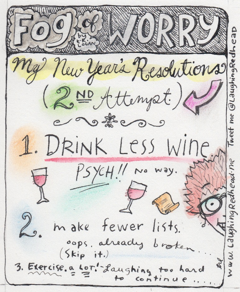 New Year's Resolutions 2nd attempt