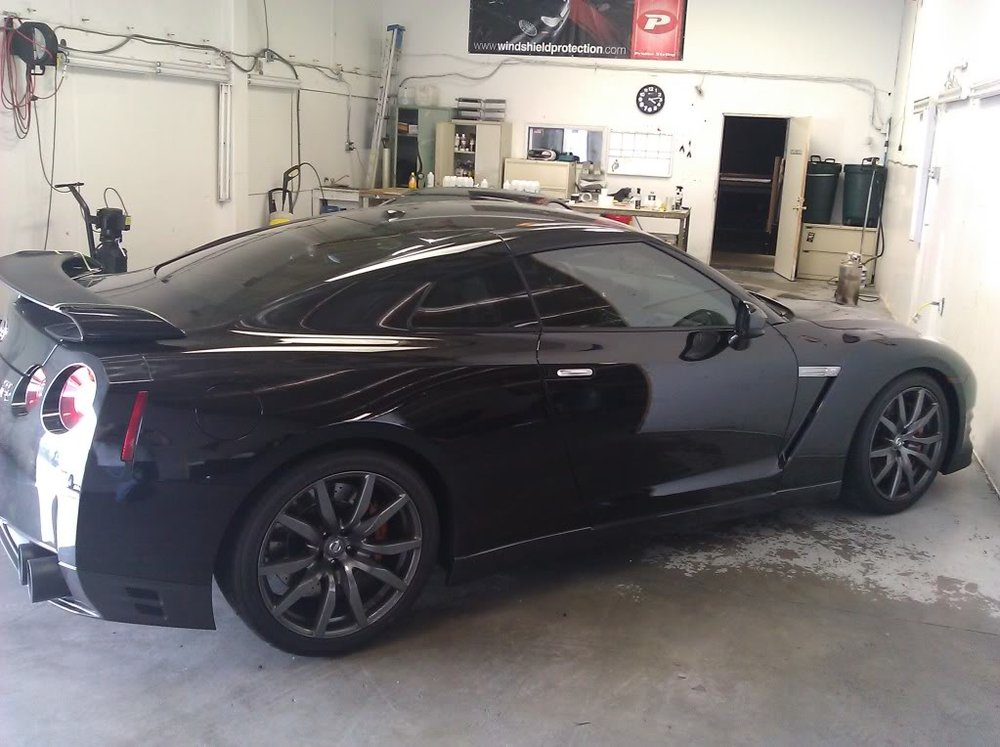GTR window tinting