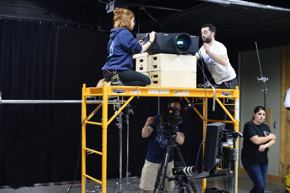 Projector in Studio.jpg