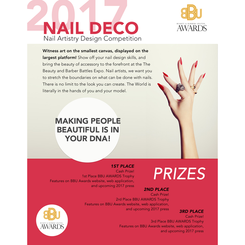 Nail Deco Nail Artistry Design Competition Pro Competition 2018