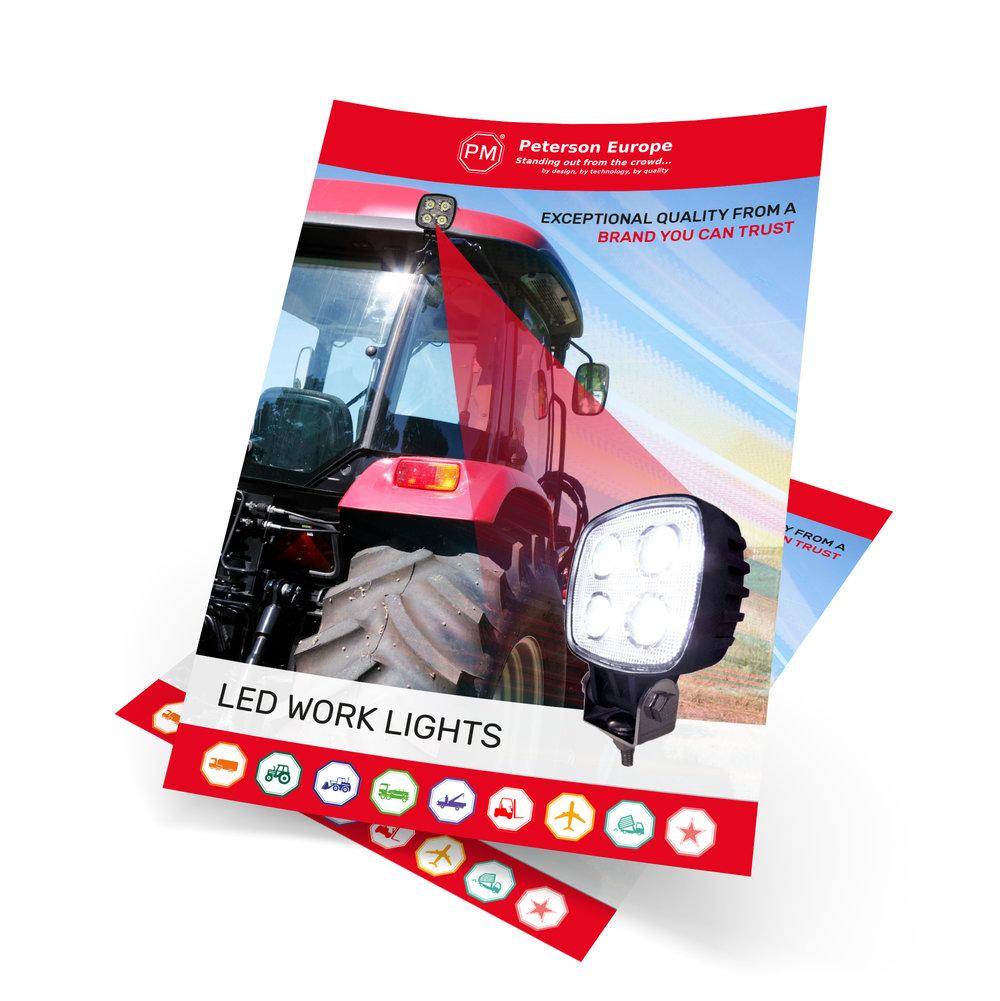 Print materials including brochures & flyers.