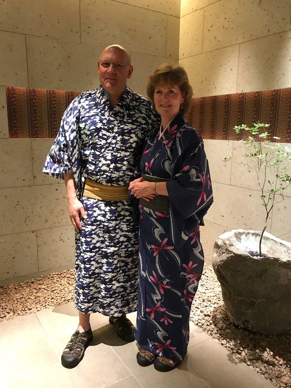 kimono in Tokyo