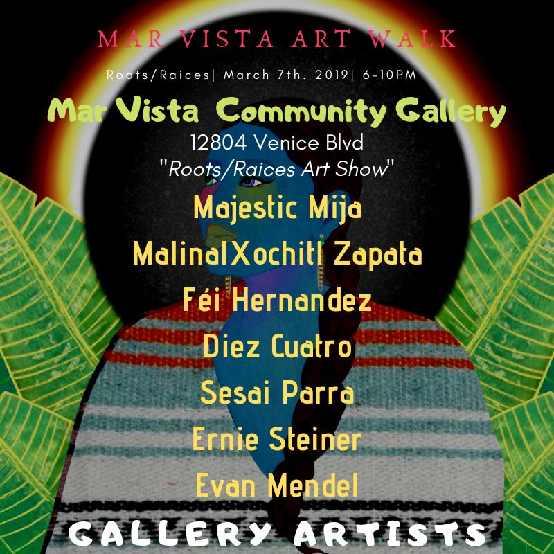 Community Art Gallery — Mar Vista Music & Art Walk