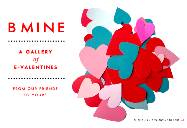Kate Spade Be Mine valentines