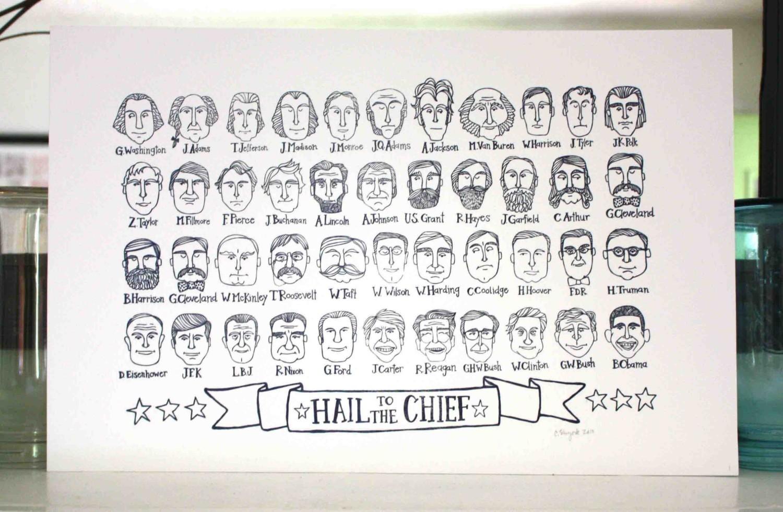 President portraits