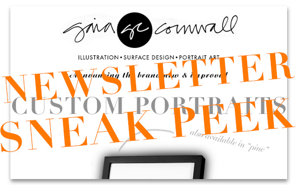 Sneak Peek of Gaia Cornwall newsletter