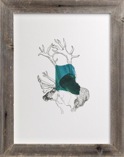 minted Elk on the Ridge