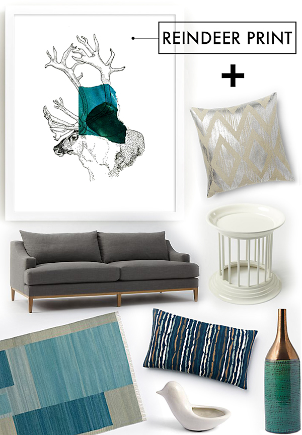 reindeer in color west elm gaia cornwall