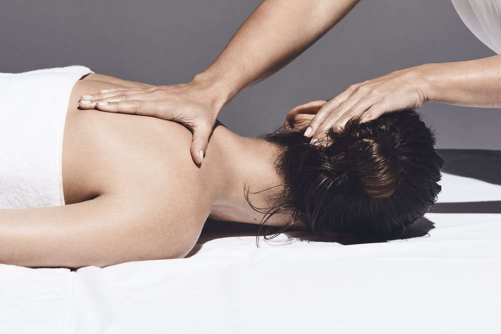 Deep Tissue Massage - Slow strokes and firm pressure is applied in order to reach deeper layer of muscle sand surrounding connective tissue