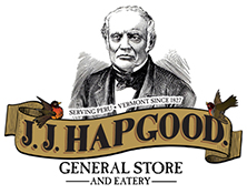 "<span class=""retailer-name"">JJ Hapgood General Store</span><span class=""retailer-location"">Peru, VT</span>"