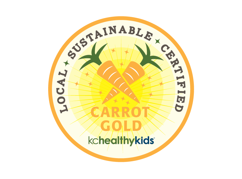 KC Healthy Kids - Carrot Gold Branding