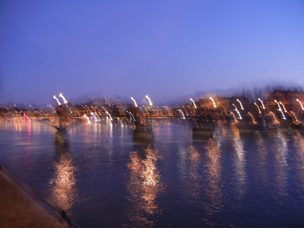 Unintentional but beloved blur from my point and shoot camera - Paris 2011