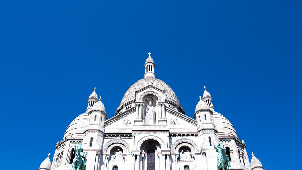 Sacre Coueur - Paris 2016