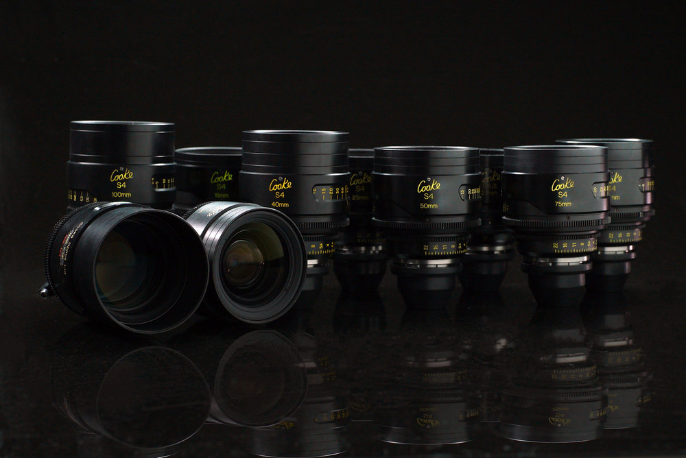 Rent Cooke S4 Lenses Los Angeles