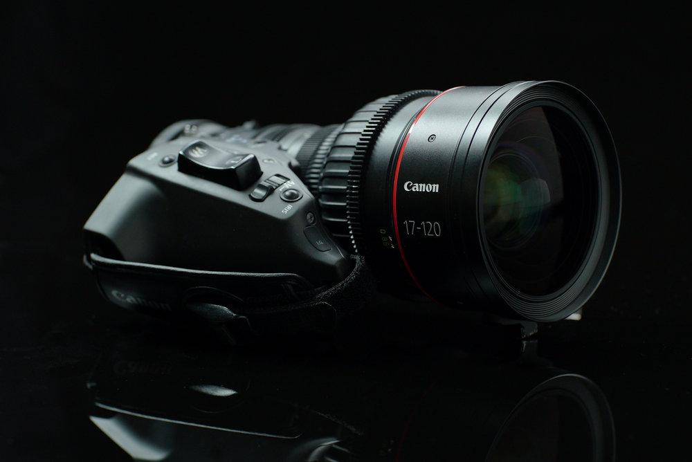 Rent Canon Cine Servo 17-120mm Zoom Los Angeles