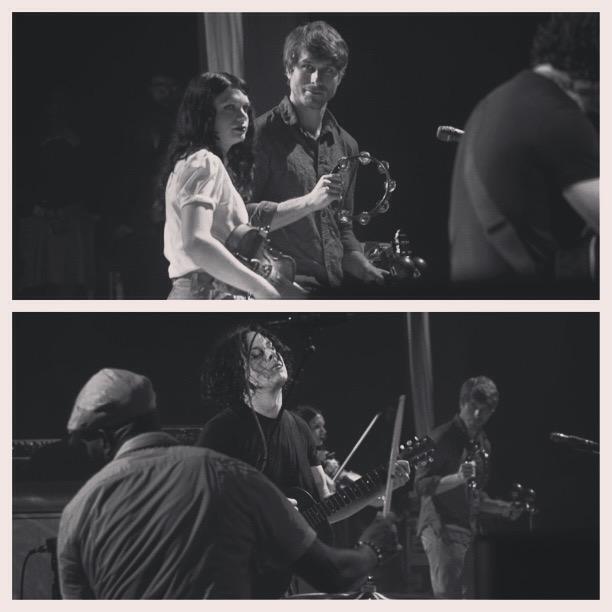 Performing w/ Jack White