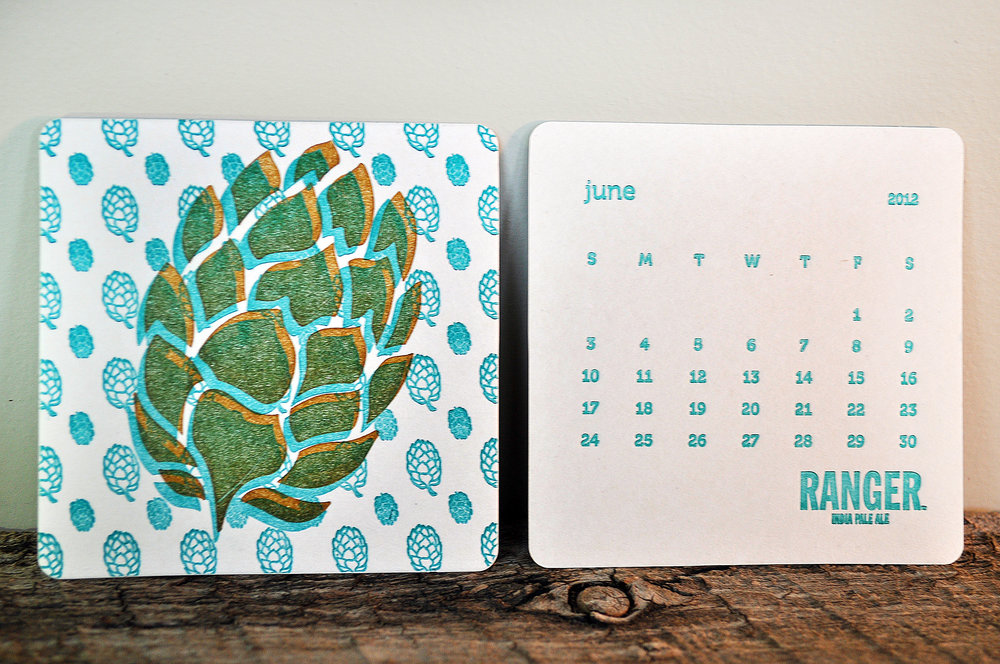 06a-letterpress-coaster-calendar-2012-ranger.JPG