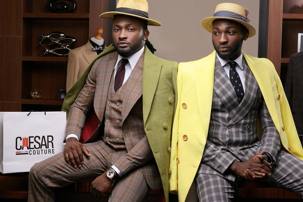 bespoke Mens Clothing at Caesar Couture