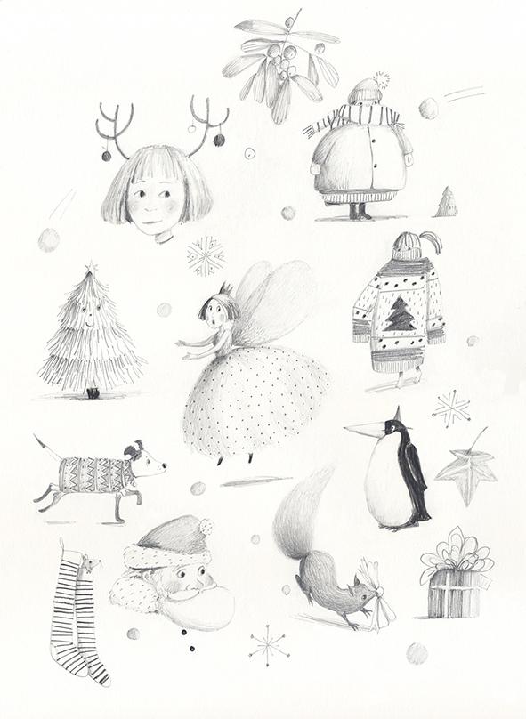 Festive Doodles