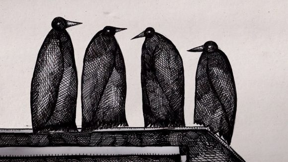 THERE'S TOO MANY OF THESE CROWS  | Morgan Miller