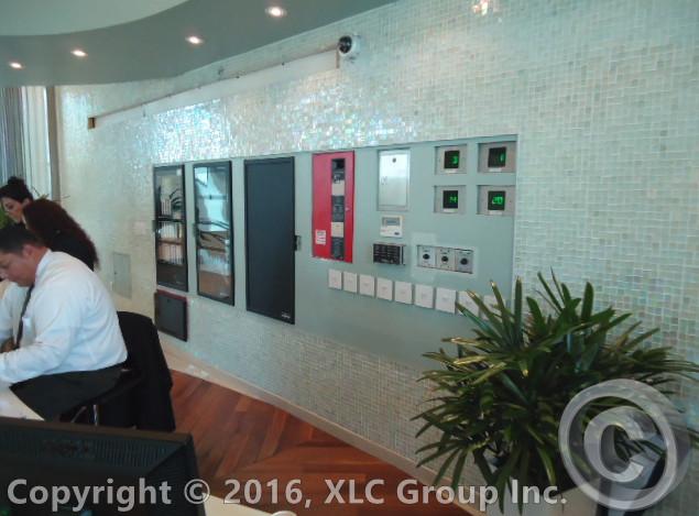 Reception Tile Installation