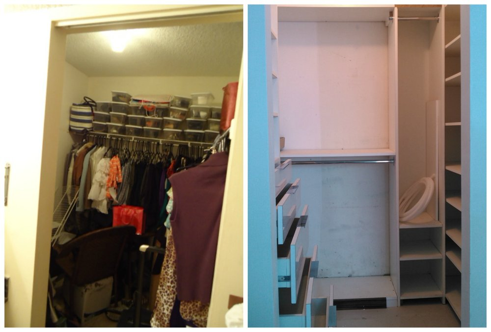 Remodeled Closet