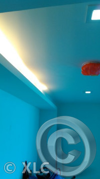 Recessed Ceiling & Wall