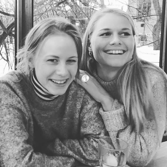 My sister and I celebrating her birthday.