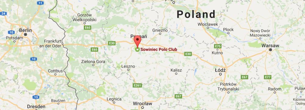 Sowiniec Polo Club Map