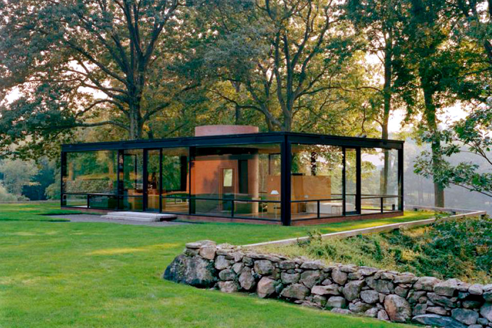 The Glass House, Philip Johnson