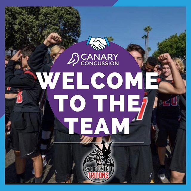 We are excited to welcome San Clemente Tritons to the Canary Concussion team! 💪🏻