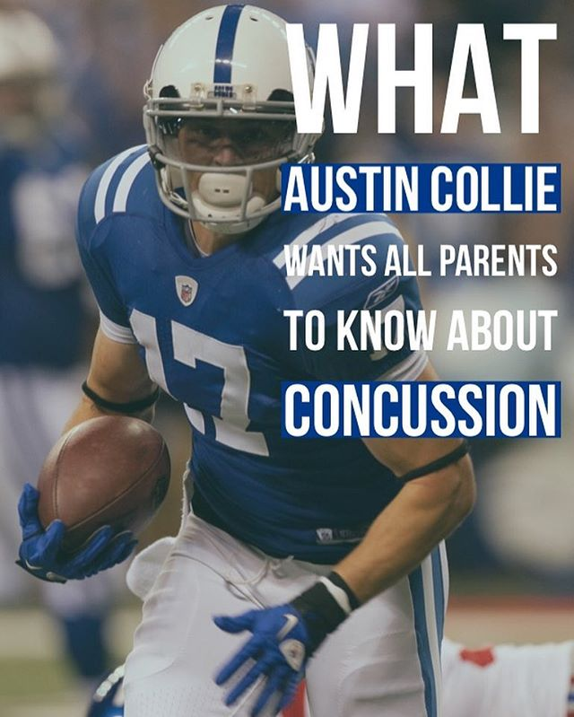 What Austin Collie, former NFL player, wishes parents knew about concussions. 🙌🏻 Link in bio.