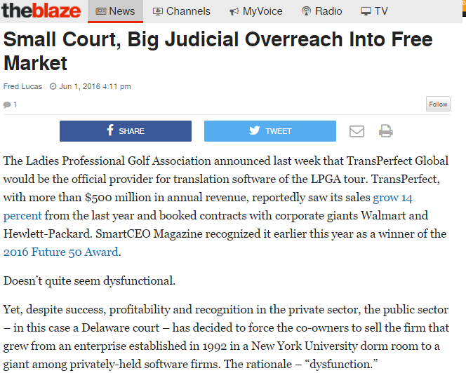 Small Court Big Judicial Overreach