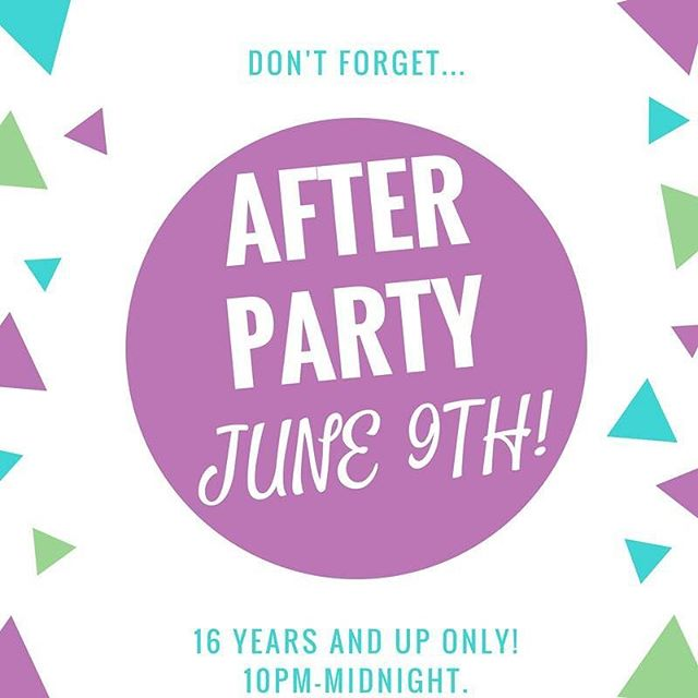 16 & up come out to Hijinx tomorrow night for our After Party!!! 10PM-12AM