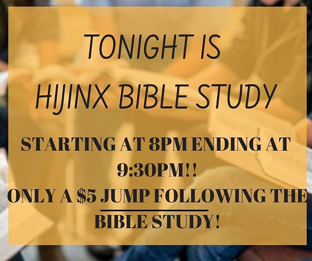 Tonight. Don't be late! starting at 8pm✝️🙌