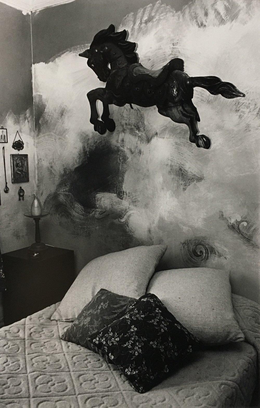 Yolanda Andrade,El Caballito,1988 Gelatin silver print 24 x 20 inches $800