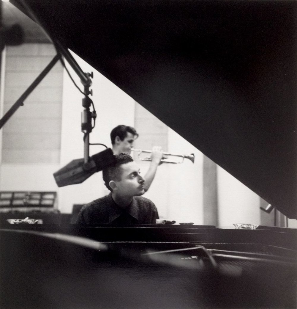 William Claxton, Russ Freeman & Chet Baker, Los Angeles, CA, 1954 Gelatin silver print 6 of 25 20 x 16 inches   $800
