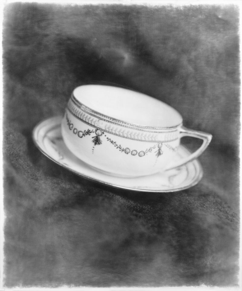 Robert Stivers, Tea Cup, 2012 Gelatin silver print 1 of 15 30 x 24 inches $800