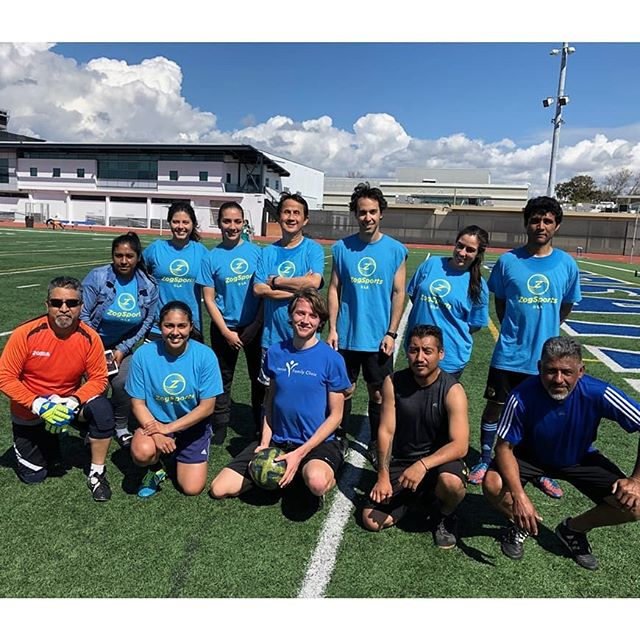 We are so proud! Venice Family Kickin' It, the Clinic's awesome soccer team, won the @ZogSportsLA winter league! #venicefamilyclinic #venice #soccer #fit #healthy #strong #teamsports #teamwork #persistence  Photo1 - Top: Jennifer Rosales, Jacquelyn Gonzales, Jennifer Merino, Minh Trinh, Gil Ben-Haroch, Jenny Ruvalcaba, Santiago Martinez. Bottom: Jorge Lazaro, Karla Lopez Aguñiga, John Lewis , Javier Garcia, Carlos Rosales.  Photo2 - Top: John Lewis, Jennifer Merino, Minh Trinh, Santiago Martinez, Guillermo Barron, Hilary Desales, Bottom: Diana Hoffman, MD (and children), Gil Ben-Haroch, Jorge Lazaro, Jennifer Rosales, Edgar Galicia and Guillermo and Hilary's Children. Missing in the picture is Juan Lopez, LVN.
