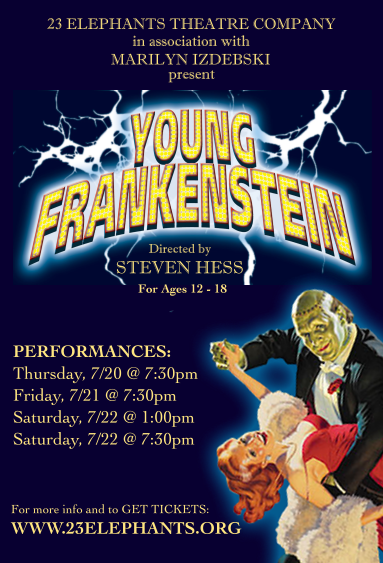 Sign up for Young Frankenstein!