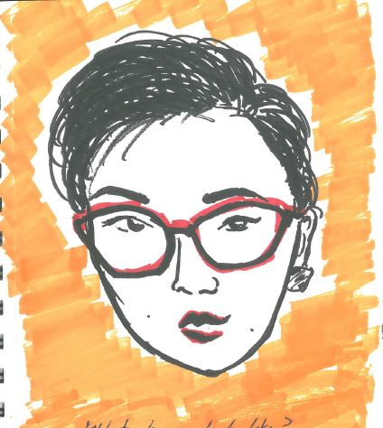 What do you look like? - A 90's Hong Kong art historian with hearts to melt and books to read.