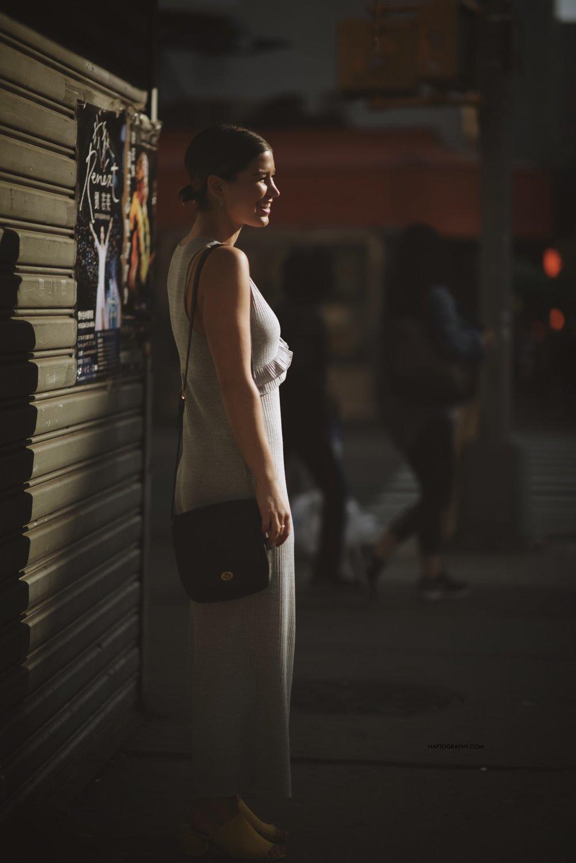 Lady in Gray. Manhattan, NY. 2017.