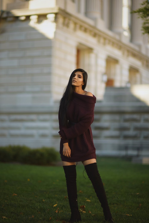 Rohma Siddiqui. Clothing: Tobi.com. Indianapolis. 2017.