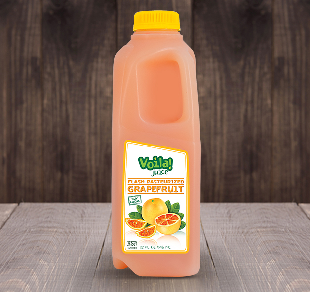 FLASH PASTEURIZED GRAPEFRUIT